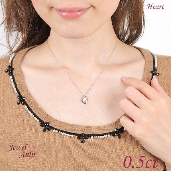 ダイヤモンド ネックレス 普段使い 0.5ct