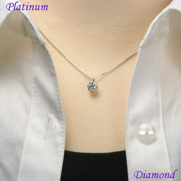 ダイヤモンド ネックレス 1カラット イメージ